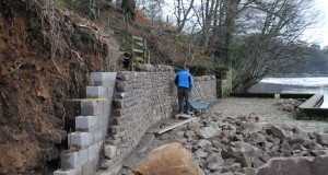 Progress with wall building