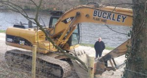 A new digger on site