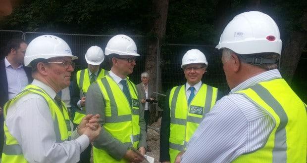 Visit from Greg Barker MP, Energy Minister